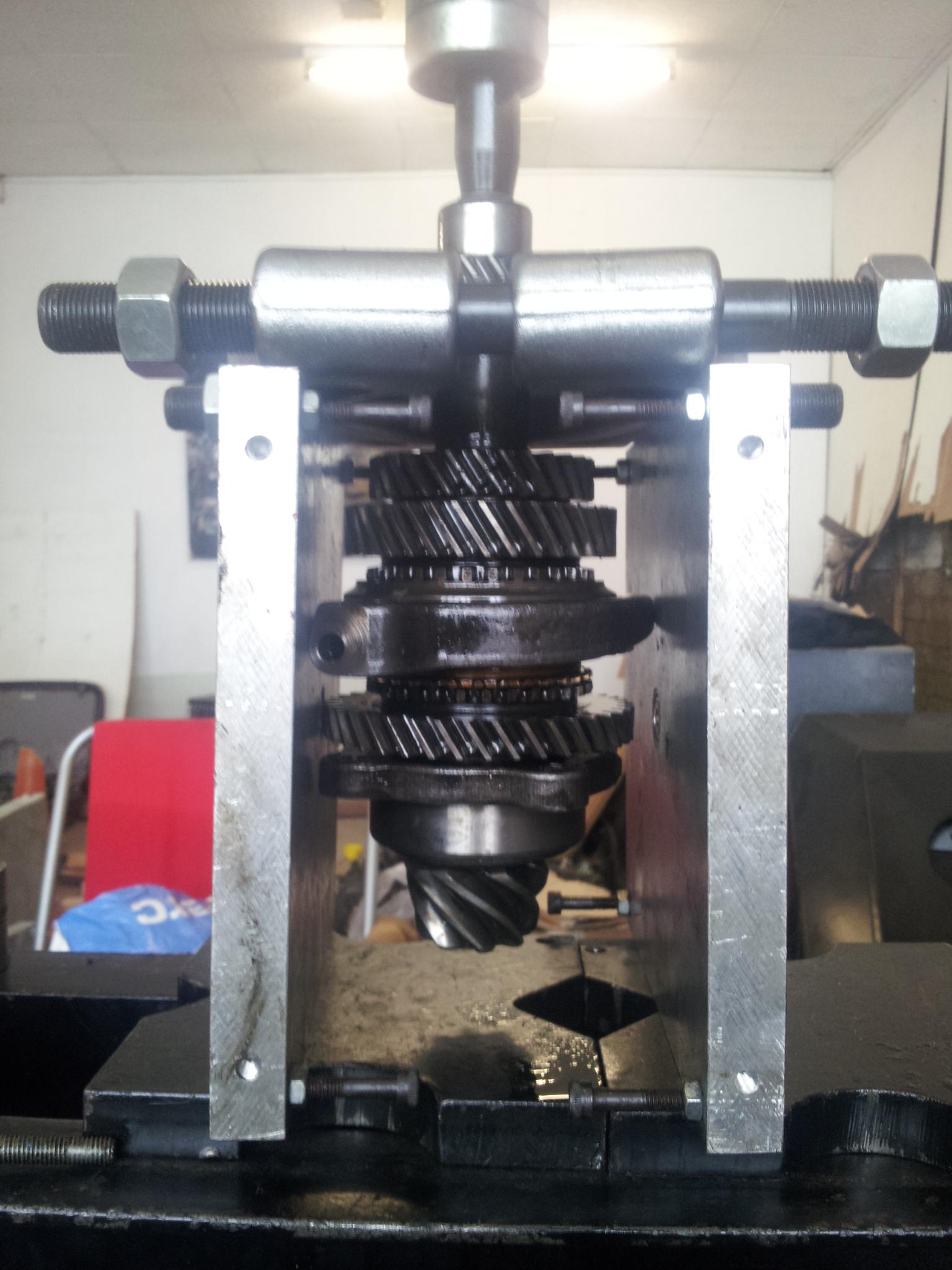 gearbox - gearbox rebuild and upgrade 4