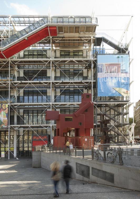 'Domestikator' by Atelier Van Lieshout at the Centre Pompidou