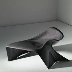 "Prototype ""Line"" low lounger by Philip Michael Wolfson"