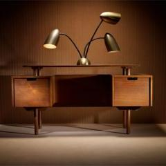 Lot # 111 - Milo Baughman Desk - Wright Auction
