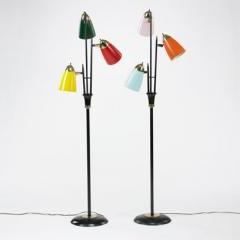 Lot # 192 Italian Floor lamps - Wright Mass Modern Auction