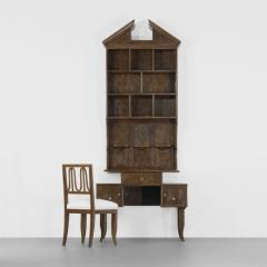 Secretary and Chair by Gio Ponti