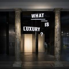 'What is Luxury?' A V&A and Crafts Council Exhibition Sponsored by Northacre