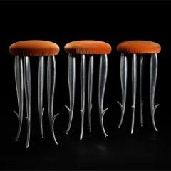 Lot # 229 Royalton bar stools by Philippe Starck- Wright Mass Modern Auction