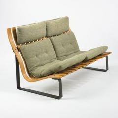 Lot# 282 Kho Liang Le settee - Wright Mass Modern Auction
