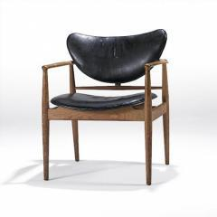 Teak No. 48 Open Arm Chair by FINN JUHL & NIELS VODDER