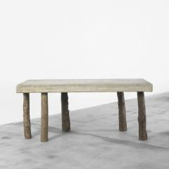 Concrete table by Jens Peter Schmid