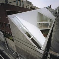 A Hill On A House by Yuko Nagayama & Associates