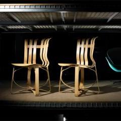 Lot # 605 - Hat Trick chairs by Frank O. Gehry - Wright Auction
