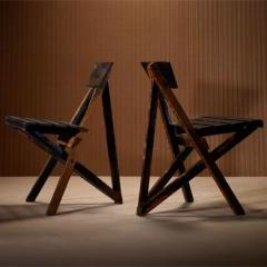 Lot # 689 - Folding Chairs- Wright Auction