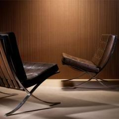 Lot # 690 - Barcelona chairs by Mies van der Rohe - Wright Auction