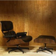 Lot # 769 - 670 Lounge Chair and 671 Ottoman by Charles and Ray Eames - Wright Auction