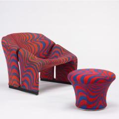Lot # 785 - 598 Lounge Chair and Ottoman - Wright Auction