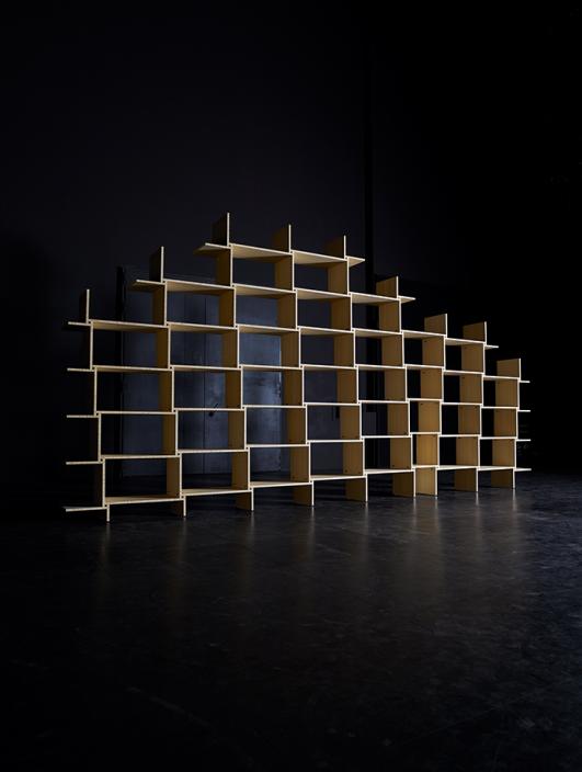 Construction - Martin Szekely at The musée des Arts Décoratifs et du Design