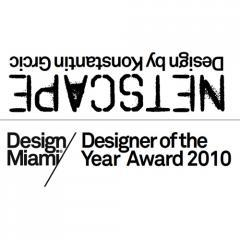 Konstantin Grcic : Design Miami / Designer of the Year Award
