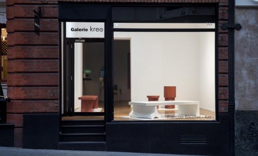 « Azo », François Bauchet at Galerie Kreo London