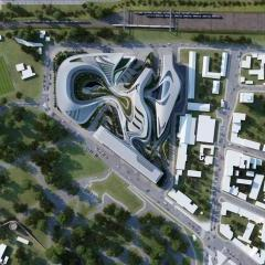 Zaha Hadid takes on Former Beko Textile Factory