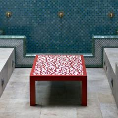 Coral Table by Brigid Strevens