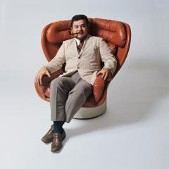 Joe Colombo in Elda Lounge Chair, c. 1967 - Ignazia Favata/Studio Joe Colombo, Milan