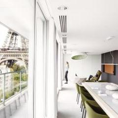 Business playground by Mathieu Lehanneur for Pullman Tour Eiffel
