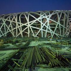 Beijing Olympic Stadium by Herzog & de Meuron - China Design Now -V&A
