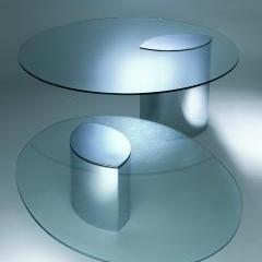 Oval Lunario Low Table