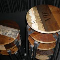 VIP stools by Piet Hein Eek