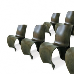 Ron Arad 3 skin joint - 8 chairs