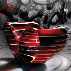 Ron Arad: Oh Void 2 2008. ©The Gallery Mourmans (photo Eric et Petra Hesmerg)