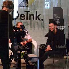 DeTnk.TV Studio at Tent London 2009