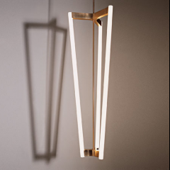 Tube Chandelier by Michael Anastassiades