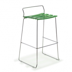 SDRY Stool H76, designed by Paolo Lucidi & Luca Pevere, Area Declic.