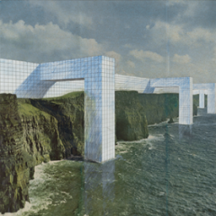 The Continuous Monument: On the Rocky Coast, Project Perspective (1969)  - The Museum of Modern Art