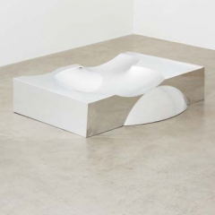 "RON ARAD  Unique ""B.O.O.P. (Blown Out of Proportion)"" coffee table, 1998"