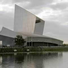 Daniel Libeskind - Imperial War Museum North in Manchester - Photo Studio Daniel Libeskind