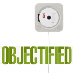 Objectified + Muji Wall Mounted CD Player
