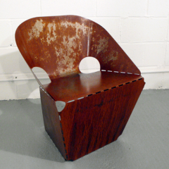 Max Lamb Rusty Steel Chair