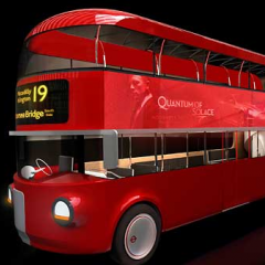 Foster + Partners with Aston Martin winning design for the Competition to design a nw bus for London. Transport for London