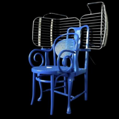 'Custom Made Chair' by Karen Ryan from the Rabih Hage Gallery