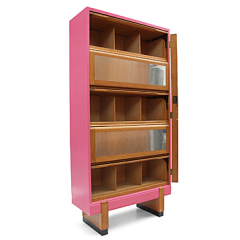 Block Bookcase, 1950s