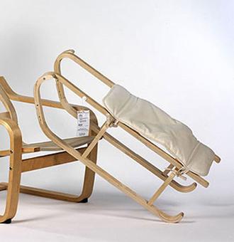 Strange Kieren Jones Ikea Hack Poang Chair Sled Detnk Bralicious Painted Fabric Chair Ideas Braliciousco