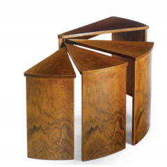 Set of nesting tables by Pierre Chareau, ca. 1924