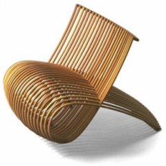 Wood Chair by Marc Newson, 1988