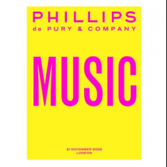 Phillips de Pury MUSIC Auction, 2009