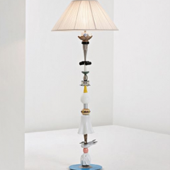 Unique 'Freeze' standard lamp, 2006 by Committee: Clare Page and Harry Richardson.
