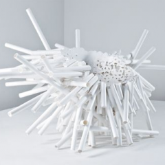 Meltdown chair PP Tube #1 2007 by Tom Price - Phillips de Pury & Company