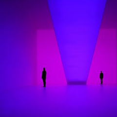 Light installation by James Turrell, Kunstmuseum Wolfburg, 2009
