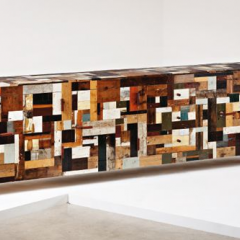'Scrap Wood' cabinet 2008 by Piet Hein Eek - Phillips de Pury & Company