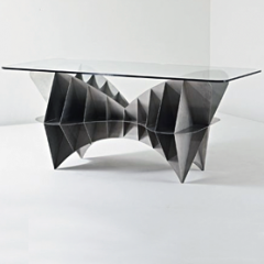 Tom Dixon Prototype writing table, 1994 - Lot #55 Phillips de Pury Design Auction October 15th, 2009