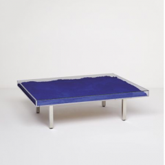 'Table Bleue' by Yves Klein, designed 1961